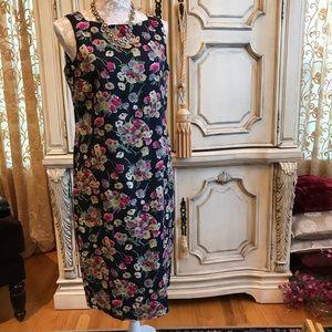 RALPH LAUREN VTG Linen Dress Sz 10